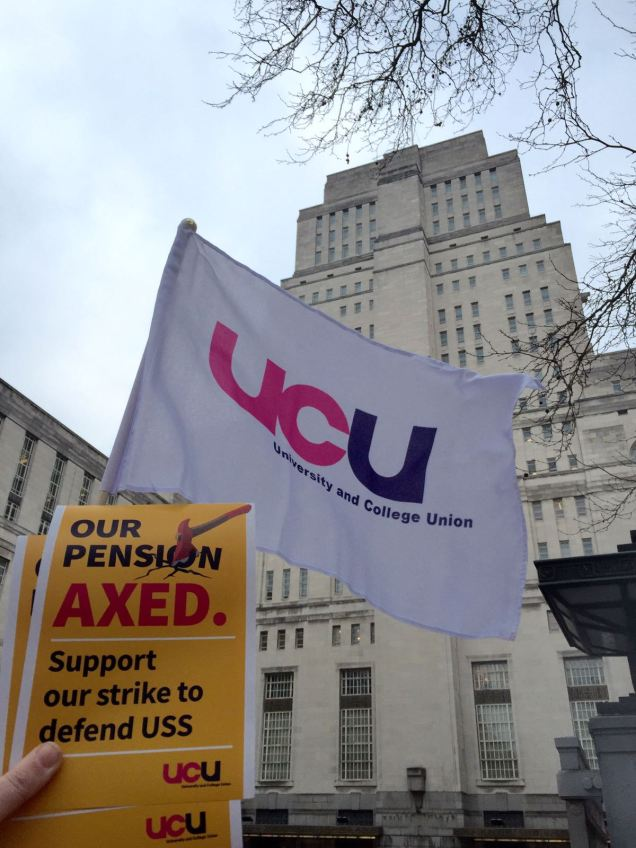 UCU Senate House strike day 1-2