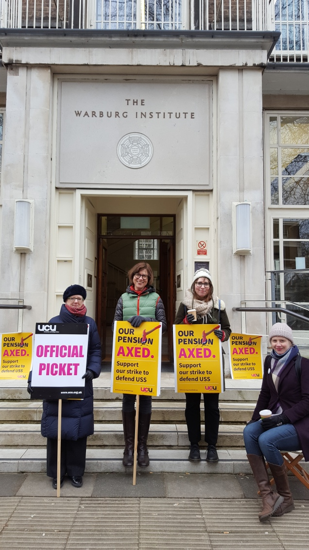 UCU Senate House strike day 1-5