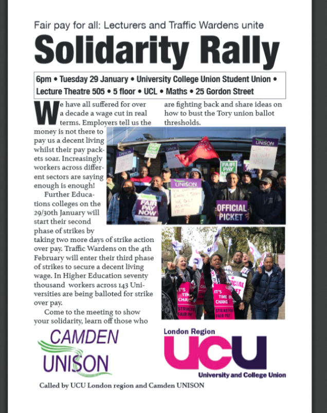 solidarity rally 29 jan